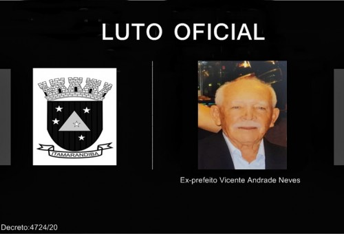 Luto: Ex-prefeito Vicente A. Neves