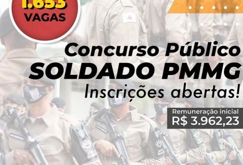 Concurso da Polícia Militar MG